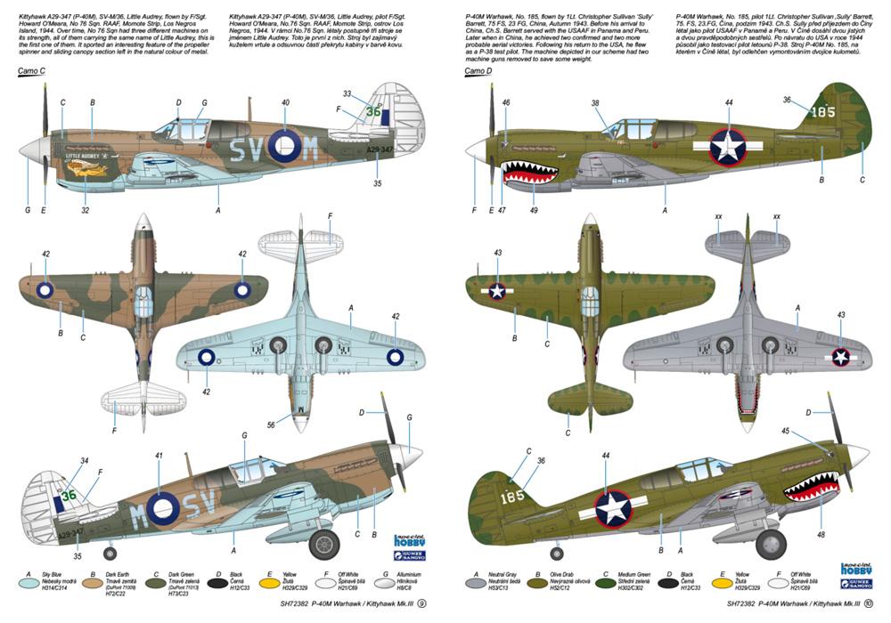 P-40M ウォーホーク / キティホーク Mk.3プラモデル(スペシャルホビー1/72 エアクラフト プラモデルNo.SH72382)商品画像_3