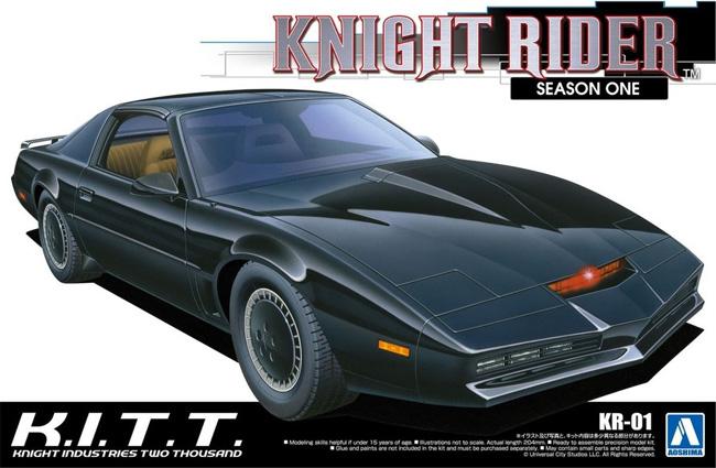 ナイト 2000 K.I.T.T. シーズン 1プラモデル(アオシマムービーメカシリーズNo.KR-001)商品画像