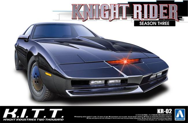 ナイト 2000 K.I.T.T. シーズン 3プラモデル(アオシマムービーメカシリーズNo.KR-002)商品画像