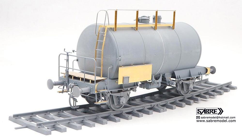 ドイツ鉄道 2軸タンク輸送車両 デウツ社製 1941-1990 (通常版)プラモデル(サーベルモデル1/35 ミリタリーNo.35A004)商品画像_2