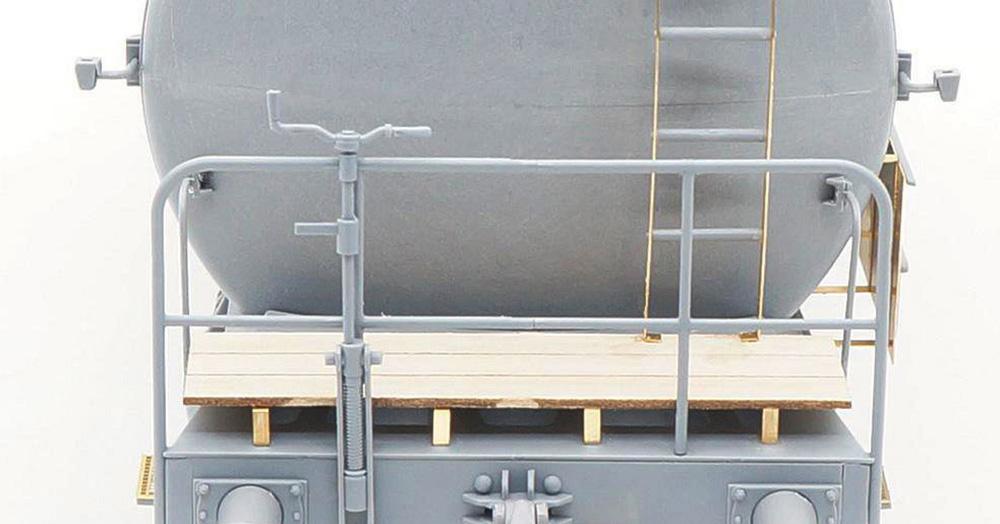 ドイツ鉄道 2軸タンク輸送車両 デウツ社製 1941-1990 (通常版)プラモデル(サーベルモデル1/35 ミリタリーNo.35A004)商品画像_4