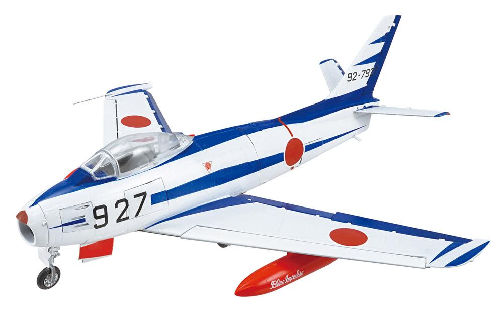フルアクション F-86 ブルーインパルスプラモデル(エフトイズ1/72 フルアクションNo.Vol.007)商品画像_3