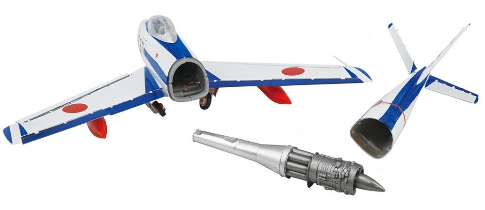 フルアクション F-86 ブルーインパルスプラモデル(エフトイズ1/72 フルアクションNo.Vol.007)商品画像_4