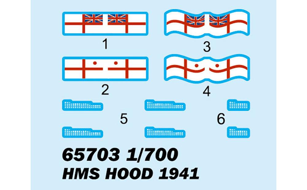 イギリス海軍 戦艦 HMS フッド 1941年 トップグレードキットプラモデル(I Love KitミリタリーNo.65703)商品画像_2