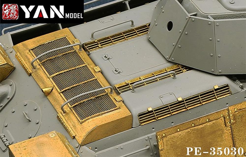 T-34/76 エッチングパーツ (ボーダーモデル BT-009対応)エッチング(YAN MODEL1/35 ディテールアップパーツNo.PE-35030)商品画像_4