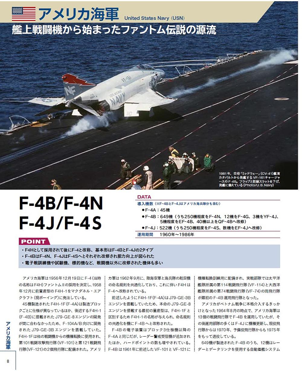 世界のF-4 ファントム 2本(イカロス出版軍用機No.61858-38)商品画像_1