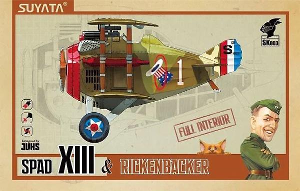 スパッド 13 & リッケンバッカープラモデル(SUYATASKY KNIGHT (スカイナイト)No.SK003)商品画像