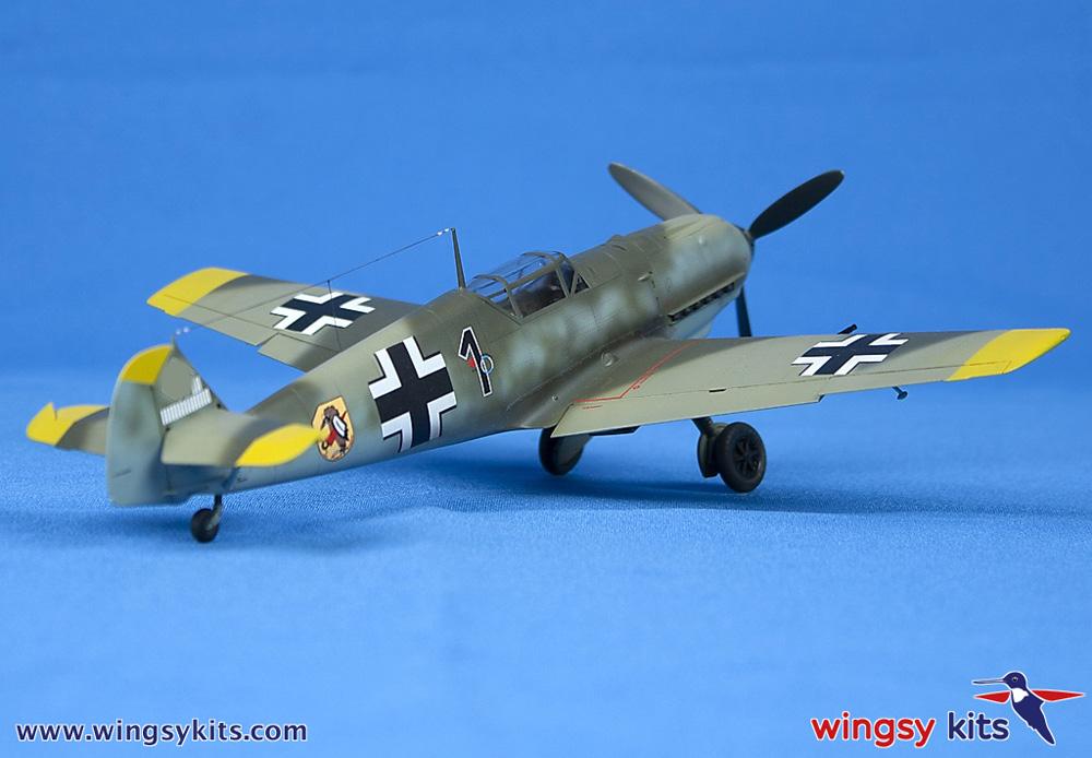 メッサーシュミット Bf109E-3 エミールプラモデル(ウイングジーキット1/48 エアクラフト プラモデルNo.D5-008)商品画像_3