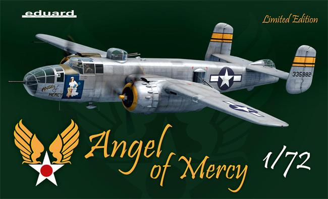 エンジェル・オブ・マーシー B-25Jプラモデル(エデュアルド1/72 リミテッド エディションNo.2140)商品画像