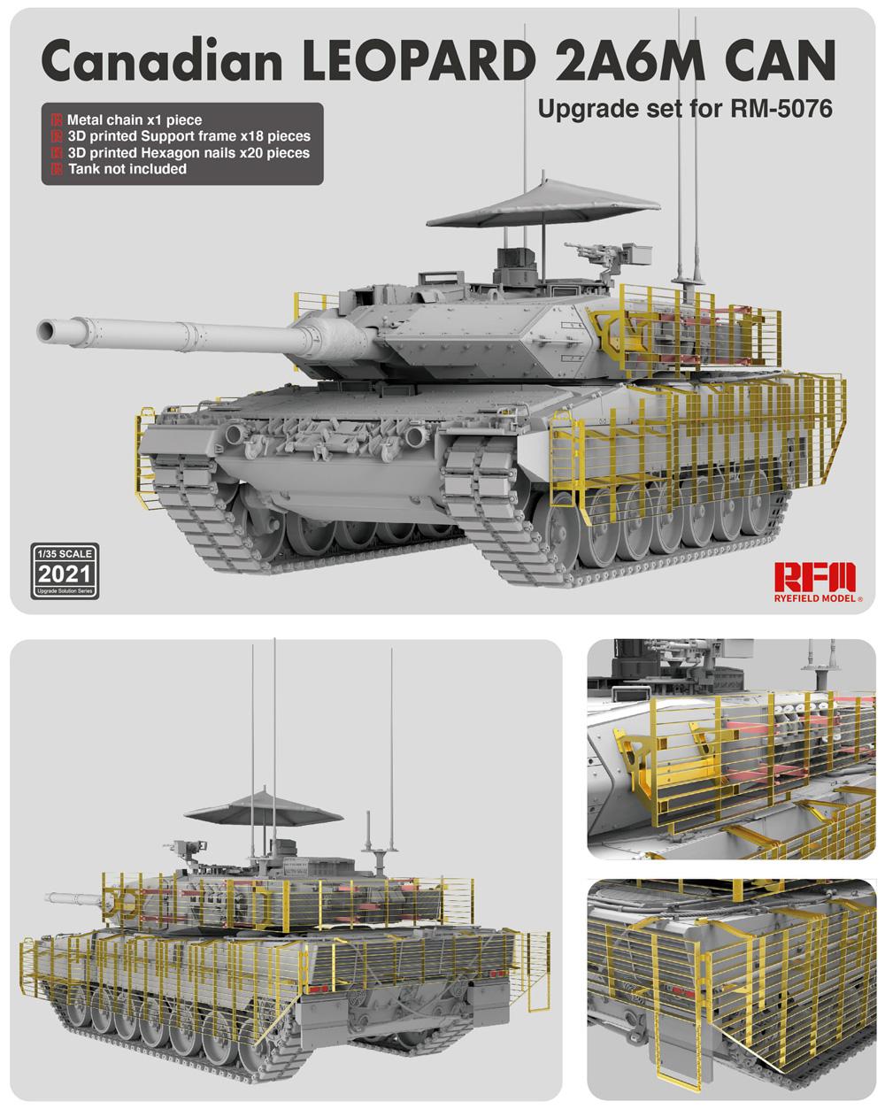 カナダ軍 レオパルト 2A6M CANプラモデル(ライ フィールド モデル1/35 Military Miniature SeriesNo.5076)商品画像_1