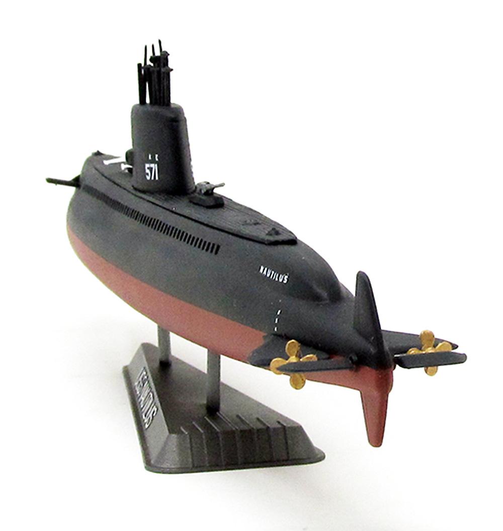 USS ノーチラス 原子力潜水艦プラモデル(アトランティスプラスチックモデルキットNo.L750)商品画像_3