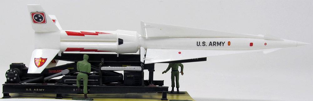 アメリカ陸軍 ナイキ ハーキュリーズ 地対空ミサイルプラモデル(アトランティスプラスチックモデルキットNo.H1804)商品画像_1
