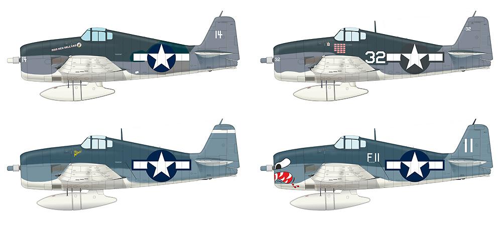グラマン F6F-3 ヘルキャットプラモデル(エデュアルド1/72 ウィークエンド エディションNo.7457)商品画像_4