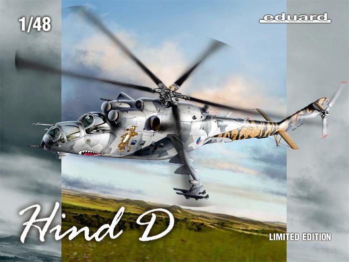 ハインドD Mi-24D チェコスロバキアプラモデル(エデュアルド1/48 リミテッドエディションNo.11150)商品画像