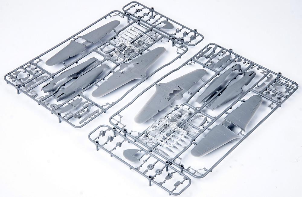 ハリストーリー ホーカー ハリケーン Mk.1 デュアルコンボプラモデル(エデュアルド1/72 リミテッド エディションNo.2138)商品画像_1