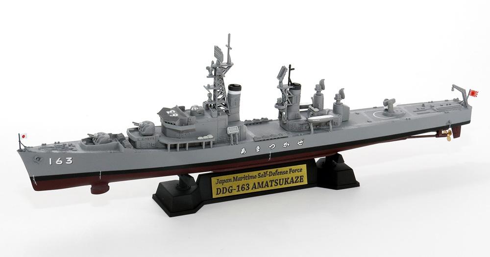 海上自衛隊 護衛艦 DDG-163 あまつかぜ 就役時 旗&旗竿 ネームプレート エッチングパーツ付き 限定版プラモデル(ピットロード1/700 スカイウェーブ J シリーズNo.J088NH)商品画像_3