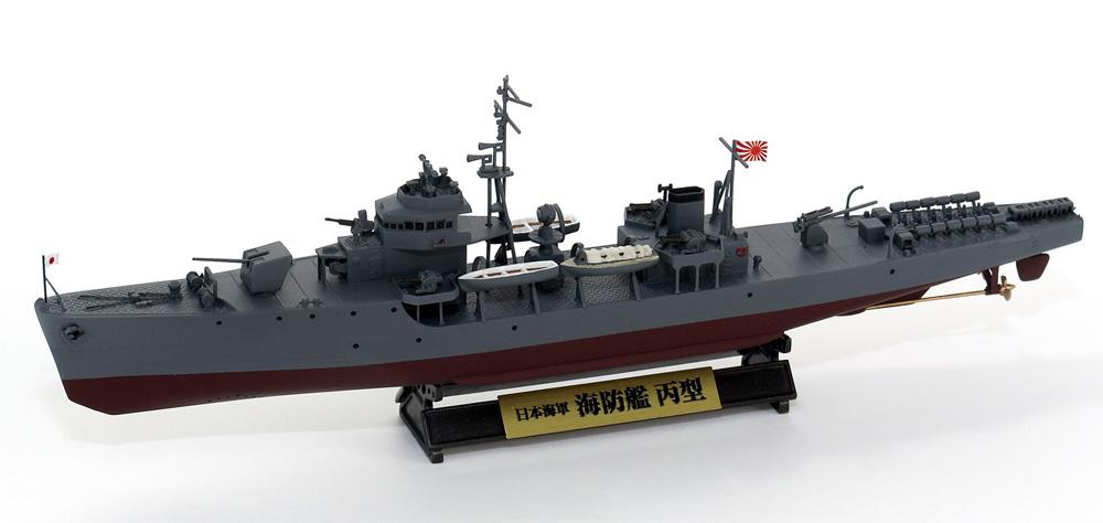 日本海軍 海防艦 丙型 (前期型) 旗&旗竿 ネームプレート エッチングパーツ付き 限定版プラモデル(ピットロード1/350 スカイウェーブ WB シリーズNo.WB003NH)商品画像_3