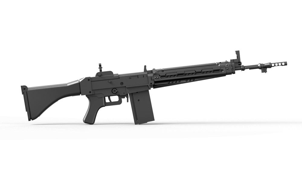 陸上自衛隊 64式小銃 (6丁入)レジン(トリファクトリーアクセサリーNo.ZA-009C)商品画像_4