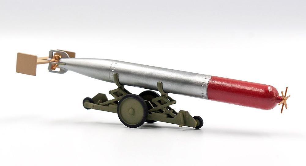 WW2 イギリス 魚雷牽引トレーラープラモデル(ICM1/48 エアクラフト プラモデルNo.48405)商品画像_2