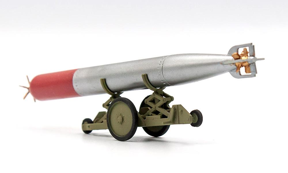 WW2 イギリス 魚雷牽引トレーラープラモデル(ICM1/48 エアクラフト プラモデルNo.48405)商品画像_3
