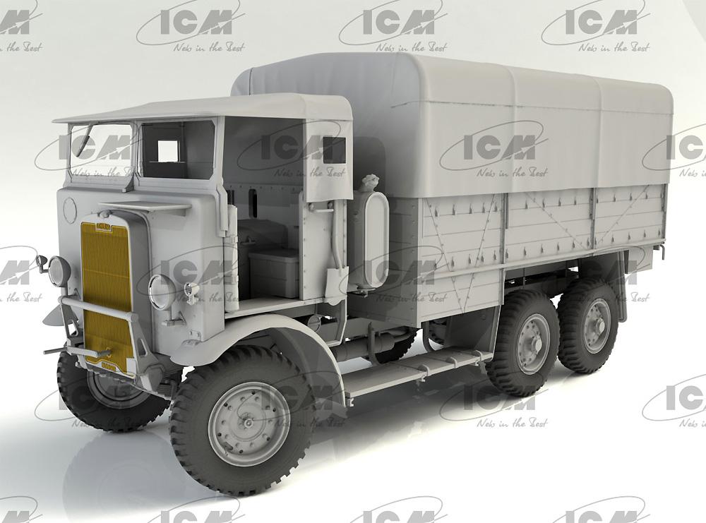 レイランド レトリバー GS トラック (WW2 イギリス トラック)プラモデル(ICM1/35 ミリタリービークル・フィギュアNo.35600)商品画像_3