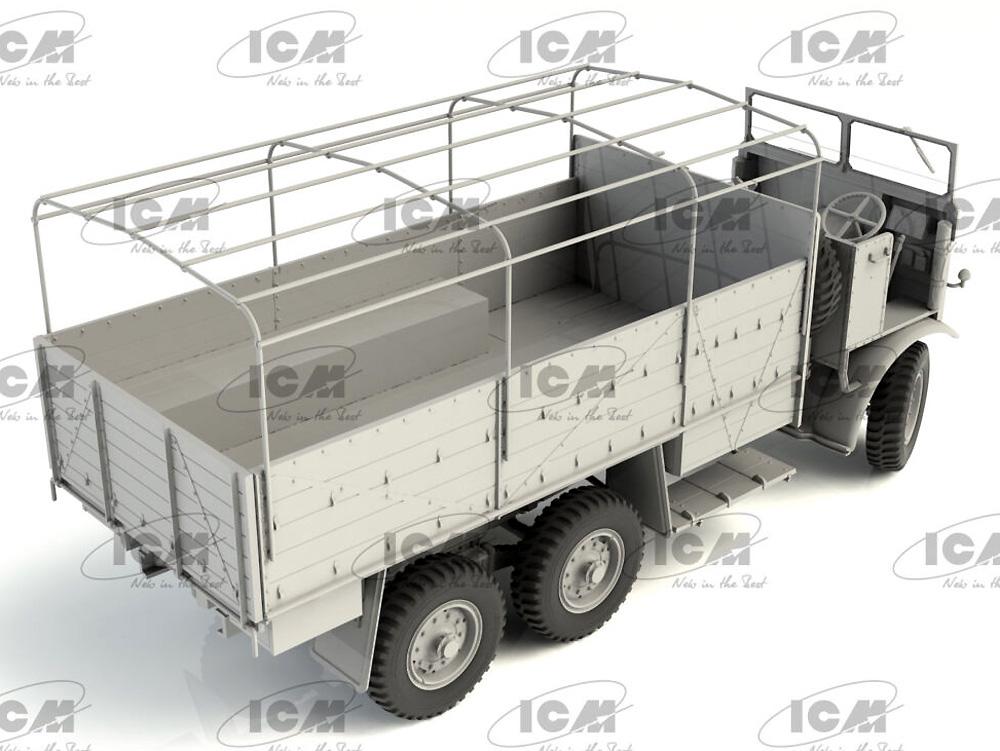 レイランド レトリバー GS トラック (WW2 イギリス トラック)プラモデル(ICM1/35 ミリタリービークル・フィギュアNo.35600)商品画像_4