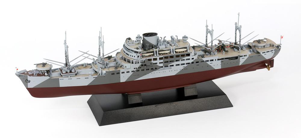 日本海軍 特設巡洋艦 愛国丸 1941プラモデル(ピットロード1/700 スカイウェーブ W シリーズNo.W238)商品画像_3
