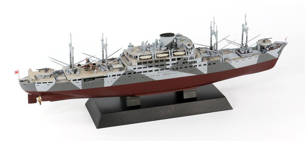 日本海軍 特設巡洋艦 愛国丸 1941プラモデル(ピットロード1/700 スカイウェーブ W シリーズNo.W238)商品画像_4