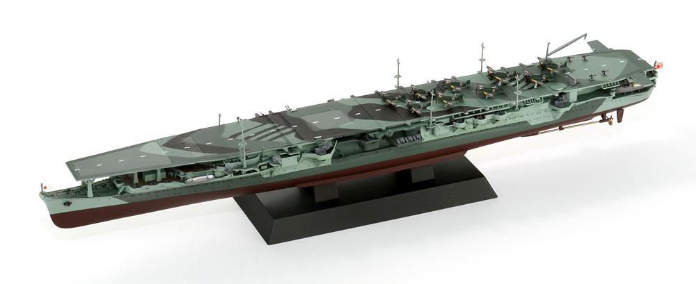 日本海軍 航空母艦 龍鳳 長甲板プラモデル(ピットロード1/700 スカイウェーブ W シリーズNo.W239)商品画像_3