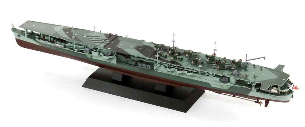 日本海軍 航空母艦 龍鳳 長甲板プラモデル(ピットロード1/700 スカイウェーブ W シリーズNo.W239)商品画像_4