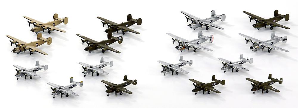 WW2 アメリカ軍用機セット 3プラモデル(ピットロードスカイウェーブ S シリーズNo.S064)商品画像_3