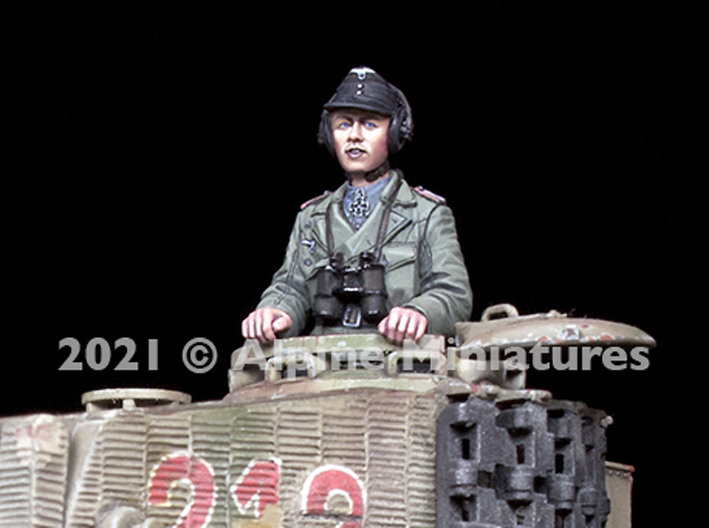WW2 ドイツ 国防軍 パンツァーエースレジン(アルパイン1/35 フィギュアNo.AM35290)商品画像_2