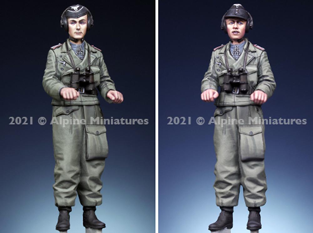 WW2 ドイツ 国防軍 パンツァーエースレジン(アルパイン1/35 フィギュアNo.AM35290)商品画像_3