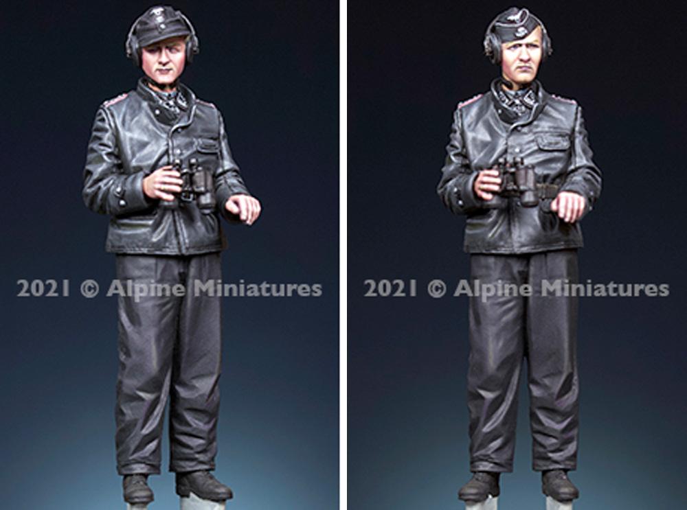 WW2 ドイツ 武装親衛隊 パンツァーエースレジン(アルパイン1/35 フィギュアNo.AM35291)商品画像_3