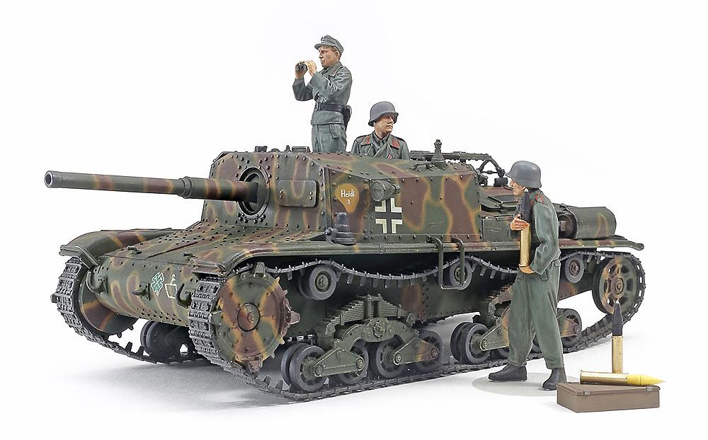 セモベンテ M42 da75/34 ドイツ軍仕様プラモデル(タミヤタミヤ イタレリ シリーズNo.37029)商品画像_2