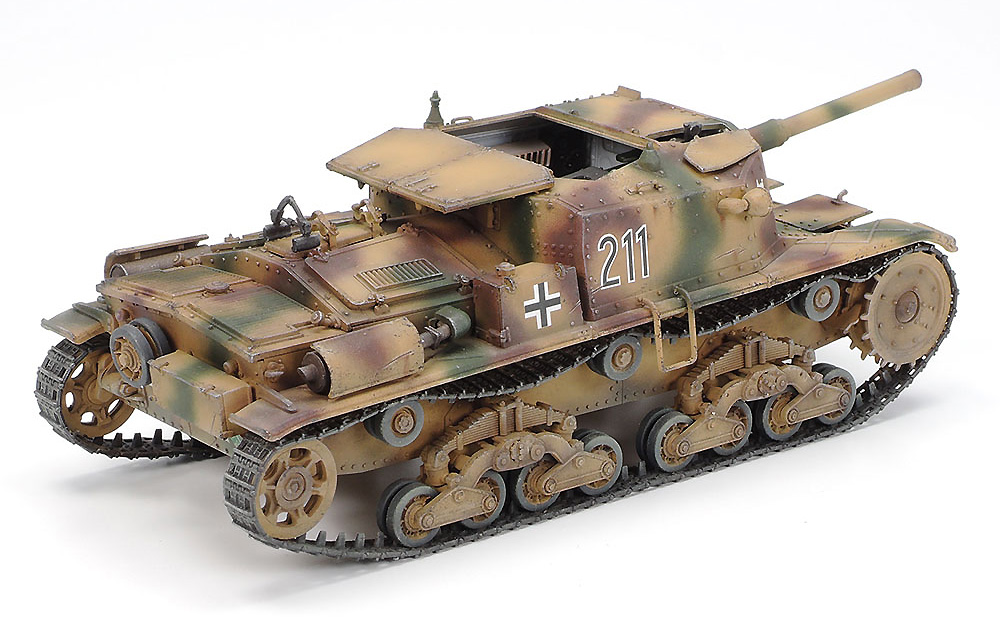 セモベンテ M42 da75/34 ドイツ軍仕様プラモデル(タミヤタミヤ イタレリ シリーズNo.37029)商品画像_3