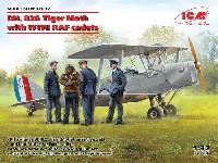 デ・ハビランド DH.82A タイガーモス w/RAF 士官候補生