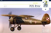 アルマホビー1/48 エアクラフト プラモデルPZL P.11C