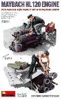 3/4号戦車用 マイバッハ HL120 エンジン w/修理工兵