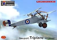 KPモデル1/72 エアクラフト プラモデルニューポール トライプレーン イギリス陸軍・海軍航空隊