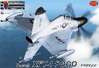 KPモデル1/72 エアクラフト プラモデルコンベア XFY-1 ポゴ プロトタイプ