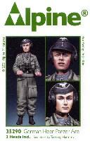 アルパイン1/35 フィギュアWW2 ドイツ 国防軍 パンツァーエース